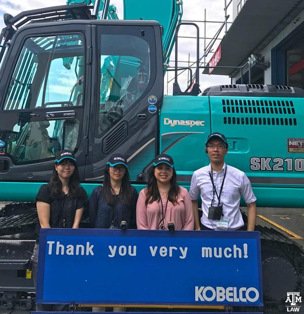 Thank you Message to Kobelco