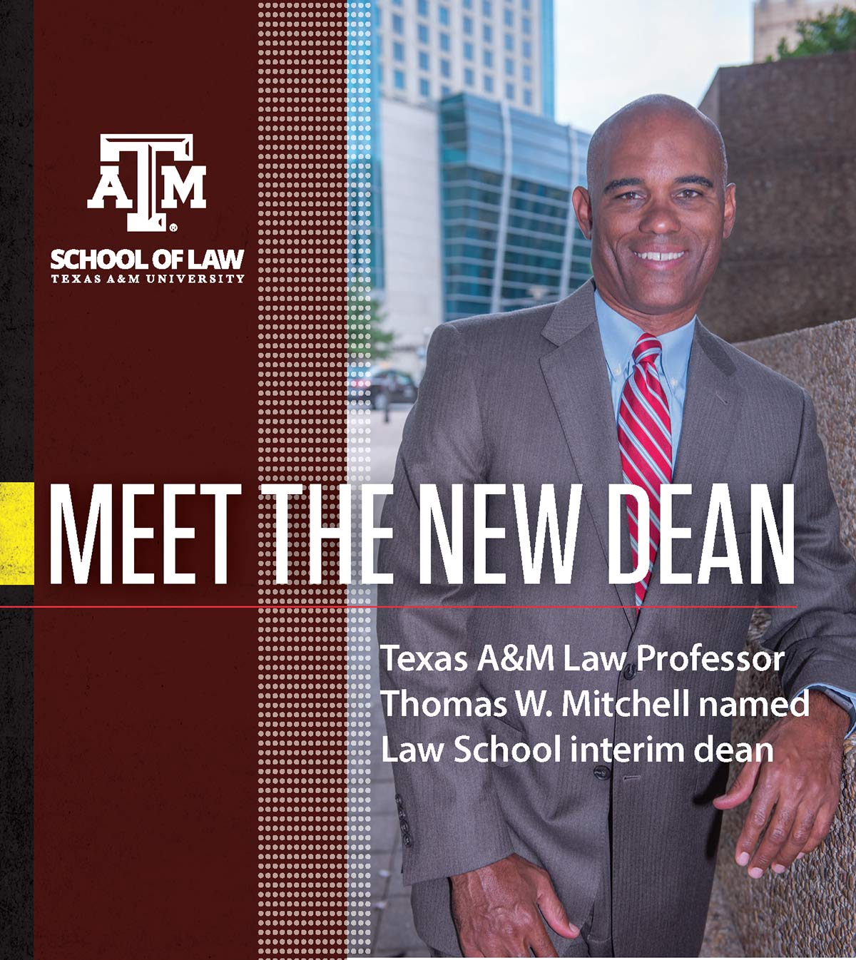 Interim Dean Mitchell spotlight