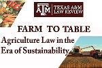Texas A&M Law Review agriculture symposium