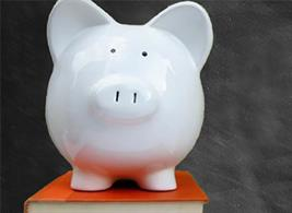 Financial Aid piggybank