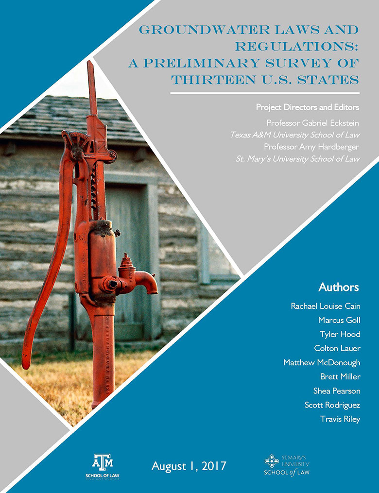 US Groundwater Laws report cover