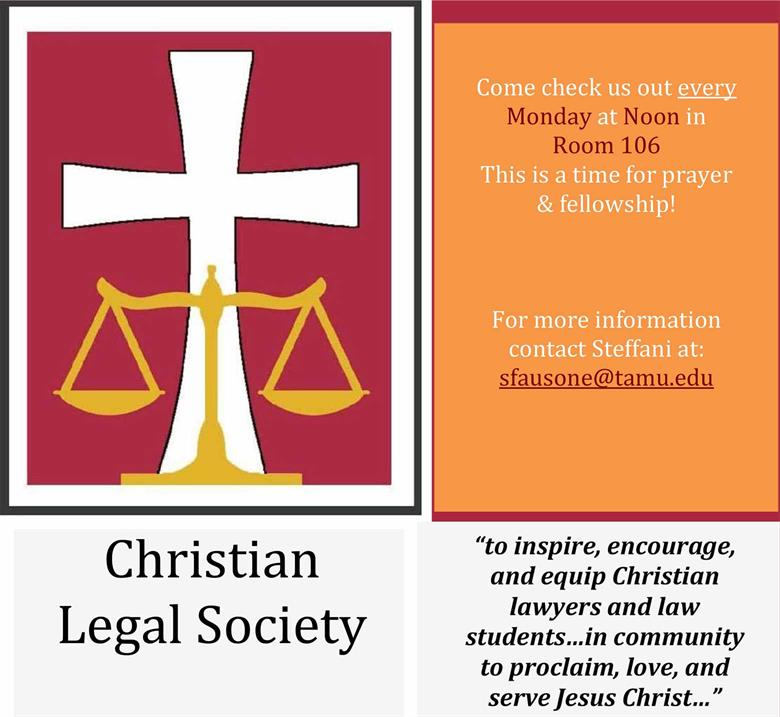 Christian Legal Society: Christian Legal Society Meeting
