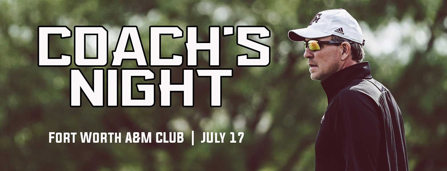 Ft Worth A&M Club Coachs Night 2018