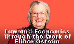 law and economics with Elin Ostrom