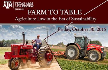 Law Review Farm to Table symposium