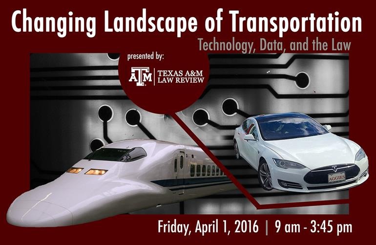 Law Review Spring 2016 Transportation Symposium
