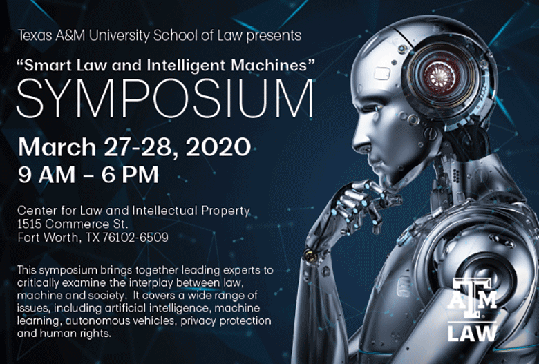 Smart Law Symposium flyer