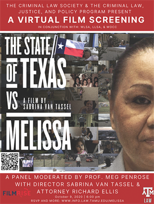State v Melissa film discussion flier