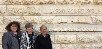 Profs Alkon, Welsh, Ku in Israel
