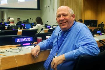 Bill Henning at the UN