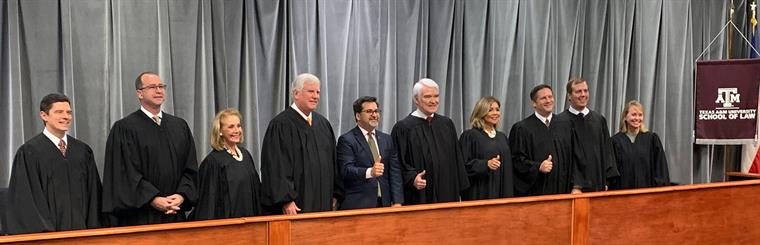 Supreme Court of TX with Bobby