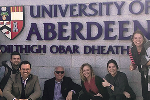 Scotland Aberdeen Univ sign